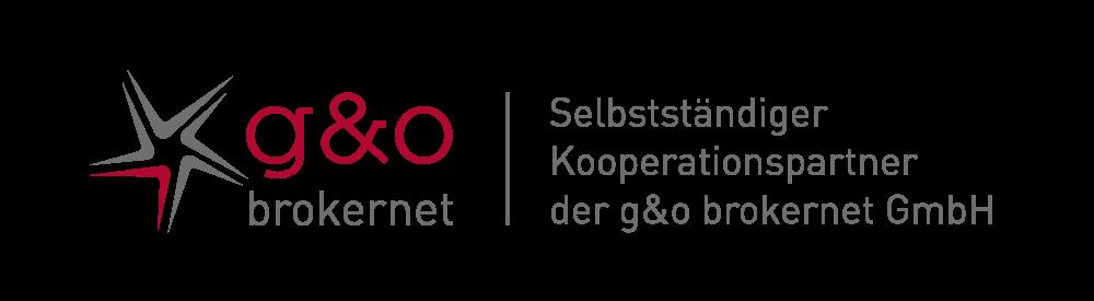 Logo der g&o Brokernet Gruppe